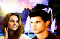 Bella & Jacob - twilight-series fan art
