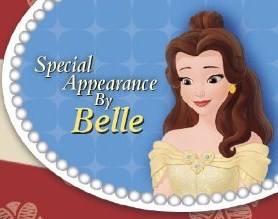 Belle is the seterusnya Princess to appear in Sofia the first
