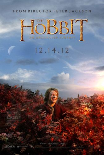 Bilbo in Mirkwood Poster fan-made