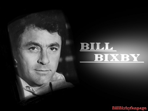 bill bixby karatasi la kupamba ukuta possibly with a sign titled Bill Bixby