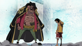 Blackbeard / Luffy - one-piece wallpaper