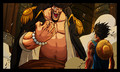 Blackbeard / Luffy - one-piece photo