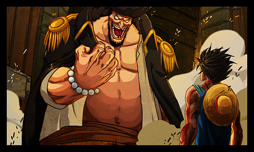 Blackbeard / Luffy