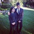 Blanket and Omer at the wedding of Taj Jackson - blanket-jackson photo
