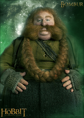 Bombur Poster fan-made