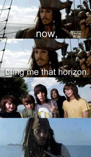 Bring Me The Horizon karatasi la kupamba ukuta called Bring Me The Horizon
