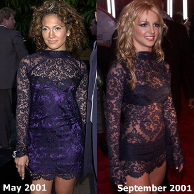 Britney Spears vs Jennifer Lopez [2001]
