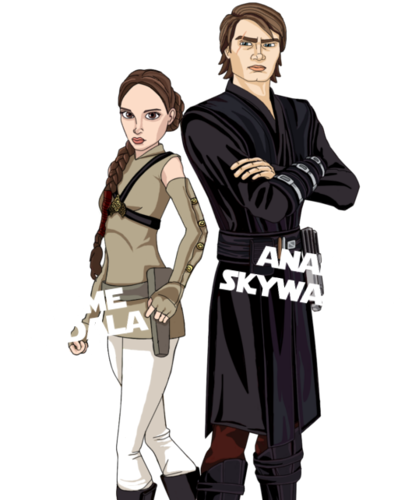 CW ANAKIN AND PADME