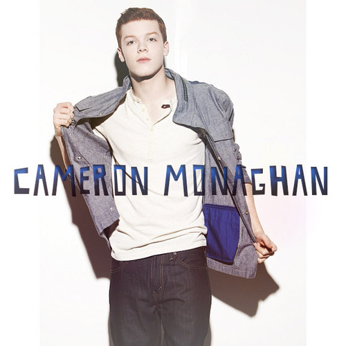 Cameron Monaghan achtergrond with an outerwear, a well dressed person, and an overgarment titled Cameron ♣