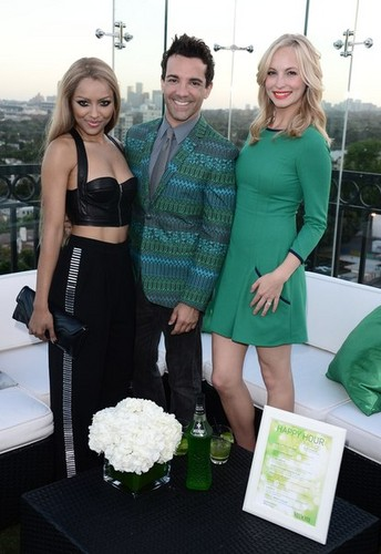 Candice attends Midori's Happy hora Style Event [20/06/13]