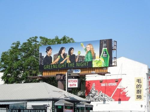 Candice's Midori campaign - Billboards.