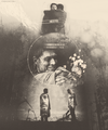 Castiel & Dean  - supernatural fan art