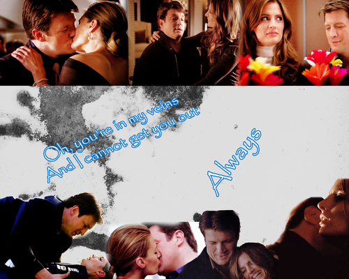 Castle- castello and Beckett bacheca