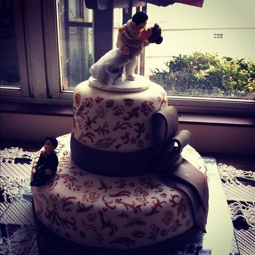 Chair wedding cake ♥