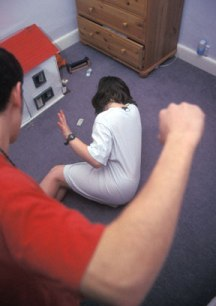 Stop Child Abuse wallpaper with a living room, a family room, and a den called Child Abuse