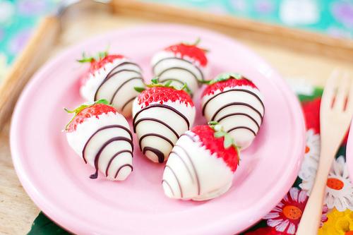 chocolat Covered Strawberries