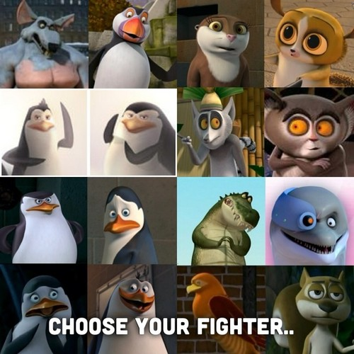 Choose your fighter....lolXD