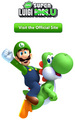 Club Nintendo - New Super Luigi U promotion - luigi photo