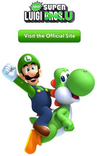 Club 任天堂 - New Super Luigi U promotion