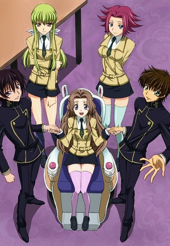 Code Geass / At the school <3