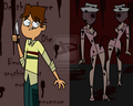 Cody in Silent Hill - total-drama-island fan art