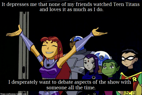 Confession Teen Titans