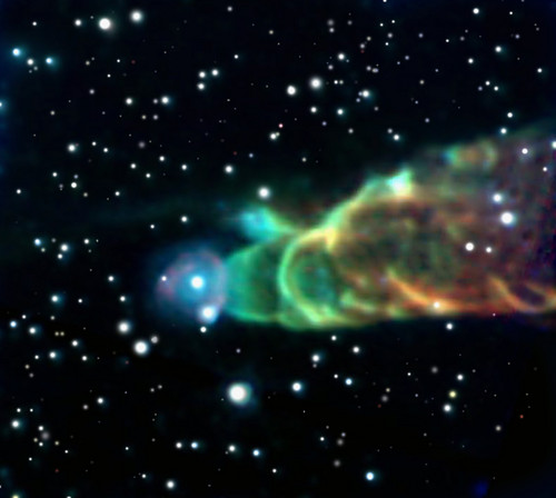 Cosmic Tornado HH 49 50~