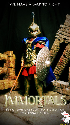 Custom one sixth Athenian Warrior