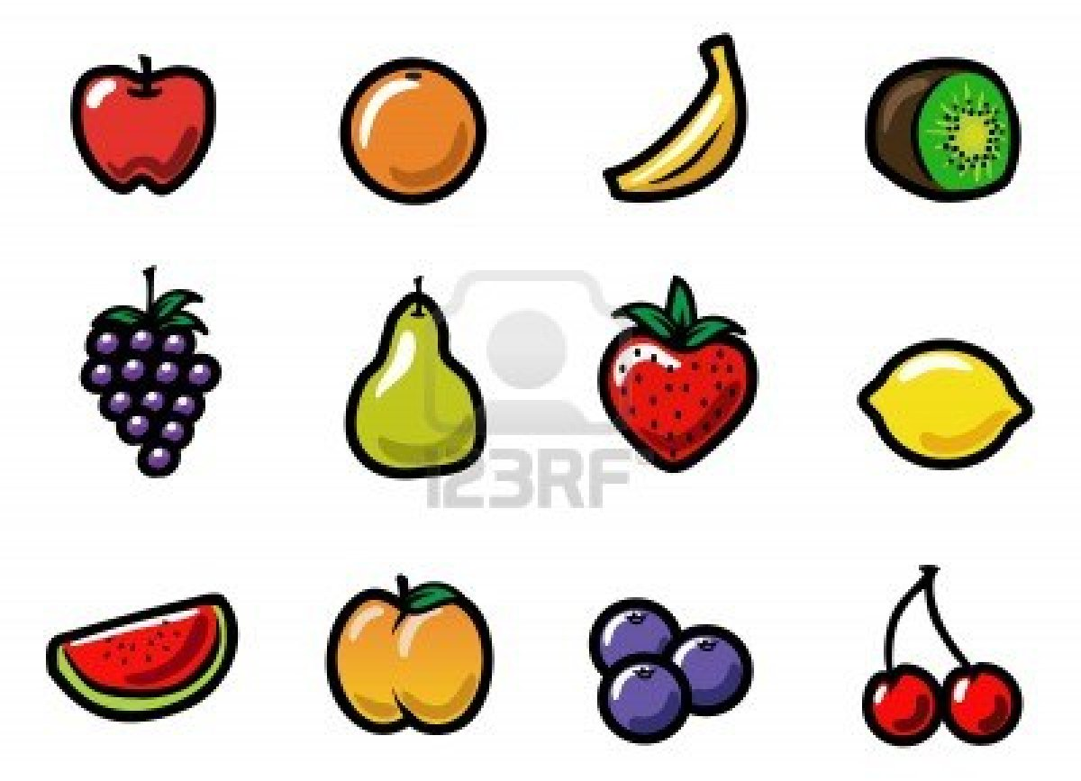 Colors images Cute and Colorful Fruits in Cartoon HD ...