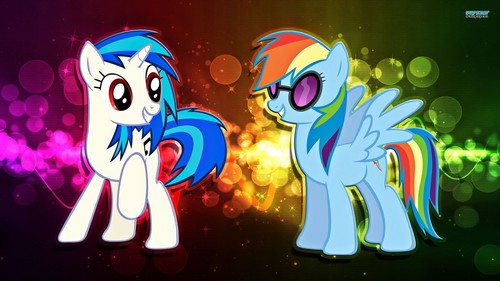 DJ Pon 3 and pelangi Dash