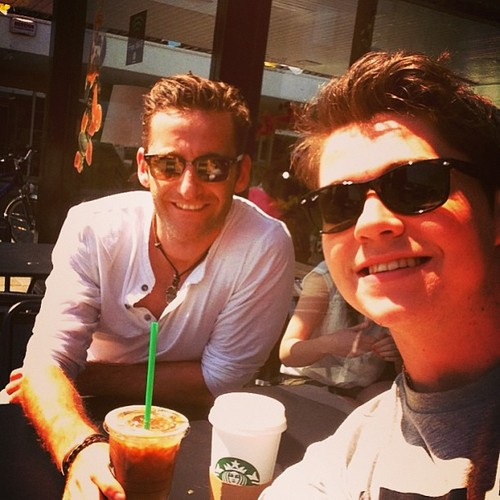 Damian Mcginy & Paul Byrom