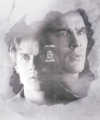 Damon  - the-vampire-diaries-tv-show fan art