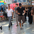 Daniel Sharman ,Tyler Hoechlin and Ian Bohen - teen-wolf photo