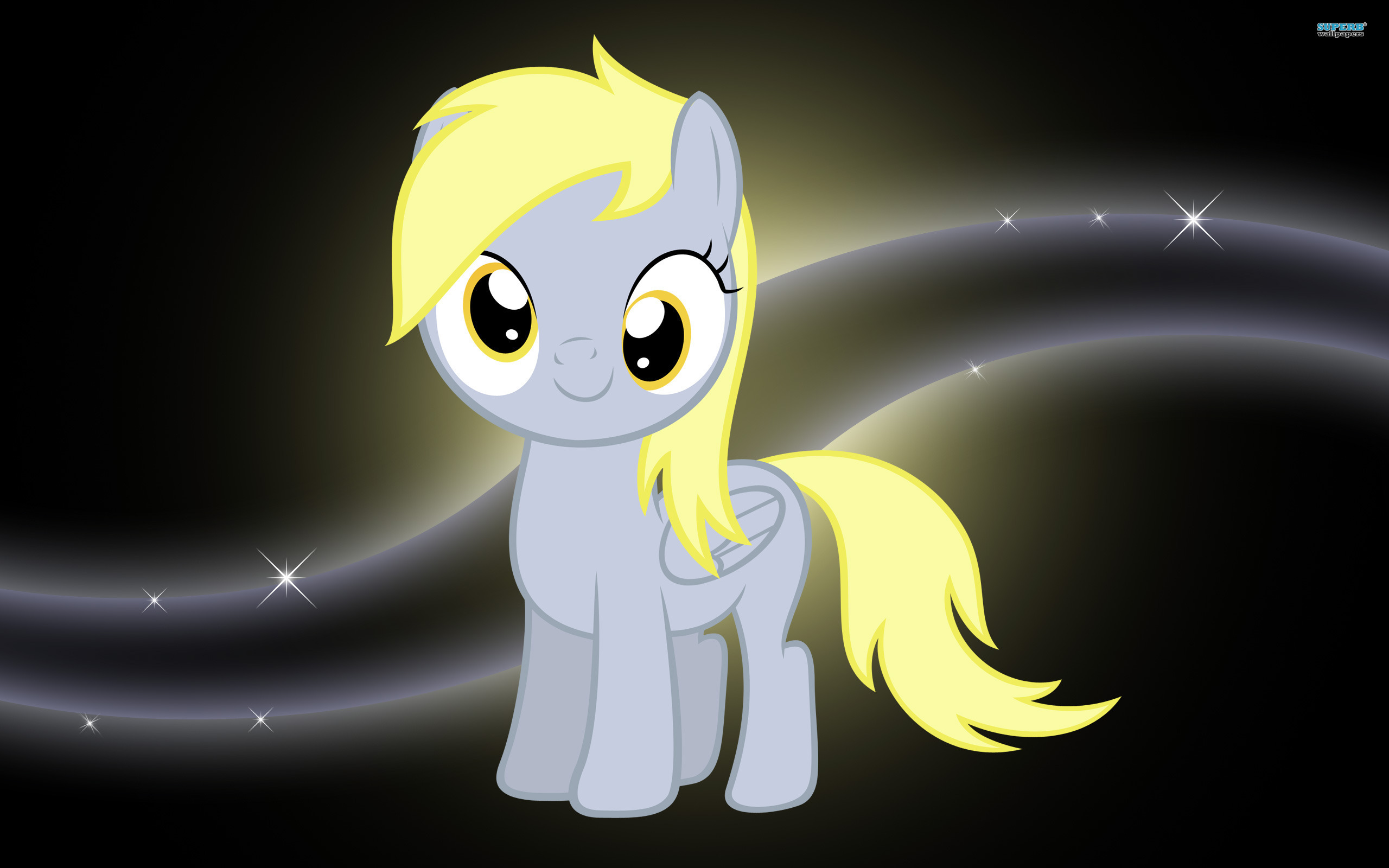 Derpy Hooves as a Filly
