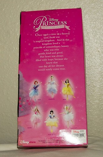 Disney Store Ballerina Doll Tinkerbell