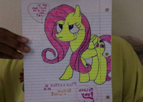 Drawings of the mane 6