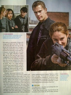 EW behind the scenes look at Divergent