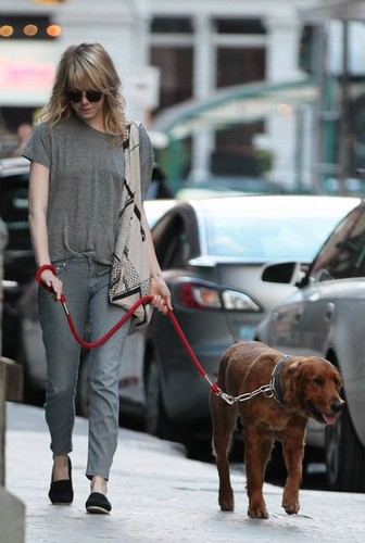 Emma Out with Ren in NYC