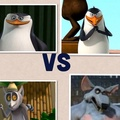 Fight!!! LolXD - penguins-of-madagascar photo