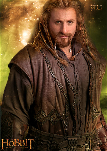 The Hobbit wolpeyper possibly with an outerwear and a damit entitled Fili Poster fan-made