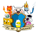 Finn's Hat is Awesome - adventure-time-with-finn-and-jake photo