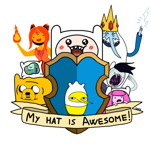 Finn's Hat is Awesome