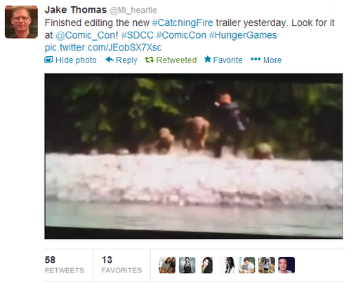 First glimpse of the new 'Catching Fire' trailer