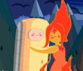 Flaming Hug - adventure-time-with-finn-and-jake photo