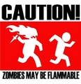 Flammable - zombies photo