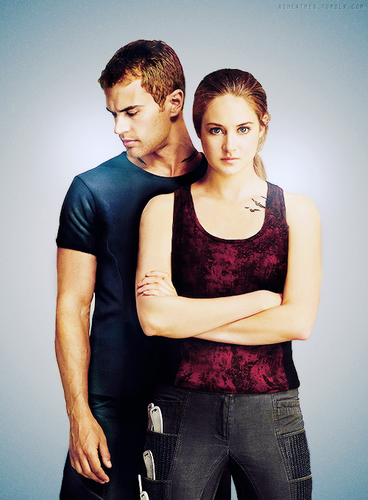 divergent movie tris and four - photo #13