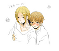 Francis x Arthur - hetalia-fruk photo