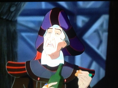 Frollo, the villain
