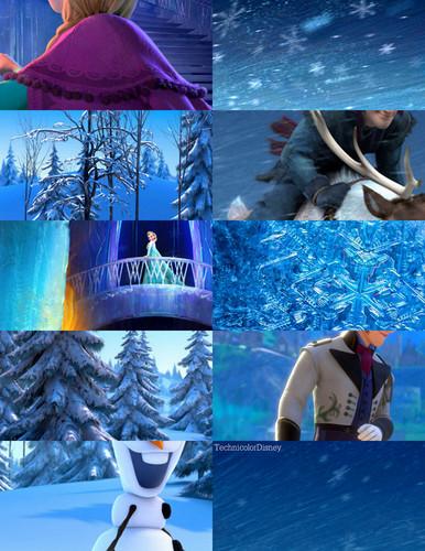 《冰雪奇缘》 Stills/Characters