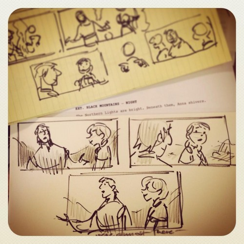 Frozen Storyboard